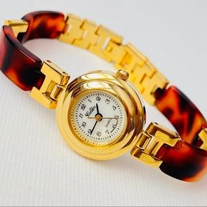 SOLD Vintage 80's Women's Tortoise Shell Watch
